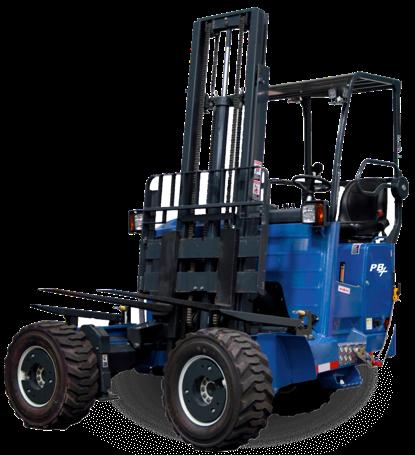 Princeton PB55+ 4-Way Truck Mount Forklift