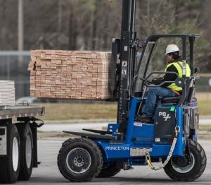 Princeton PiggyBack® Lumber Application