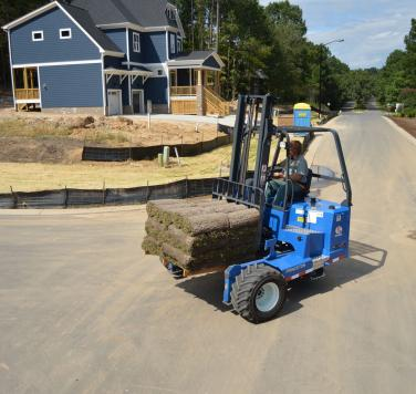 Princeton PiggyBack® Sod Application